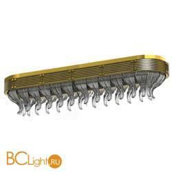 Потолочный светильник Beby Group Milano Deco 8030Q05 Light gold Smoked Glass