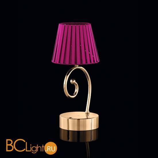 Настольная лампа Beby Group Miss Bjioux 0117L02 Light gold Fuxia - N316