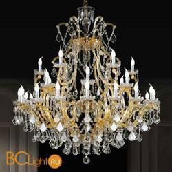 Люстра Beby Group Novecento 907/18+12 Light gold CUT CRYSTAL