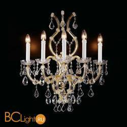 Бра Beby Group Novecento 901/5A Light gold CUT CRYSTAL
