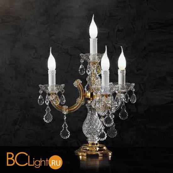 Настольная лампа Beby Group Novecento 940/4L Light gold HALF CUT