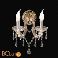 Бра Beby Group Novecento 770/2A Light gold CUT CRYSTAL