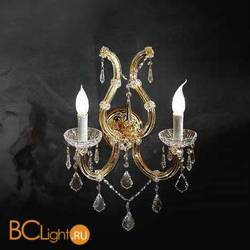Бра Beby Group Novecento 785/2A Light gold CUT CRYSTAL