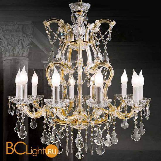 Люстра Beby Group Novecento 6300/10 Light gold HALF CUT