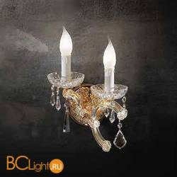 Бра Beby Group Novecento 780/2A Light gold CUT CRYSTAL