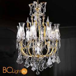 Люстра Beby Group Novecento 6304/8 Light gold HALF CUT