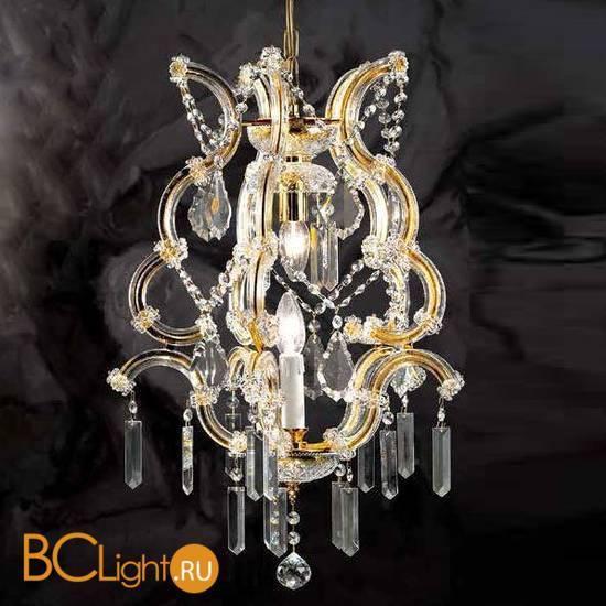 Люстра Beby Group Novecento 495/1 Light gold CUT CRYSTAL