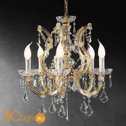 Люстра Beby Group Novecento 790/5 Light gold CUT CRYSTAL