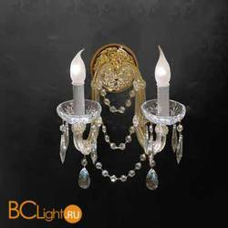 Бра Beby Group Novecento 6314/2A Light gold CUT CRYSTAL
