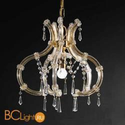 Подвесной светильник Beby Group Novecento 6305/1 Light gold CUT CRYSTAL
