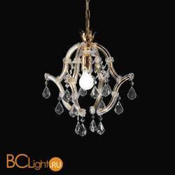 Подвесной светильник Beby Group Novecento 470/1 Light gold CUT CRYSTAL