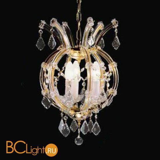 Люстра Beby Group Novecento 485/3 Light gold CUT CRYSTAL