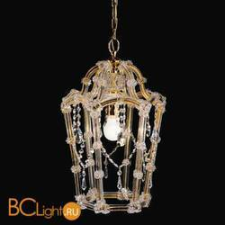 Подвесной светильник Beby Group Novecento 480/1 Light gold CUT CRYSTAL