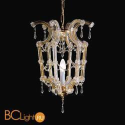 Подвесной светильник Beby Group Novecento 475/1 Light gold CUT CRYSTAL
