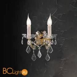 Бра Beby Group Novecento 630/2A Light gold CUT CRYSTAL