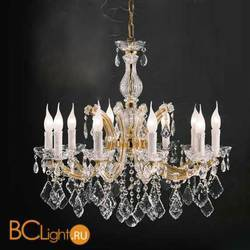 Люстра Beby Group Novecento 630/10 Light gold HALF CUT