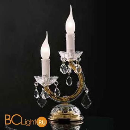 Настольная лампа Beby Group Novecento 630/2L Light gold HALF CUT