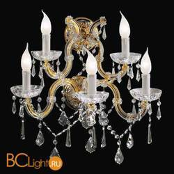 Бра Beby Group Novecento 6320/5A Light gold CUT CRYSTAL