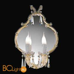 Бра Beby Group Novecento 420/2S Light gold CUT CRYSTAL