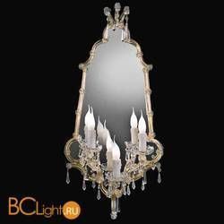 Бра Beby Group Novecento 440/3S Light gold CUT CRYSTAL