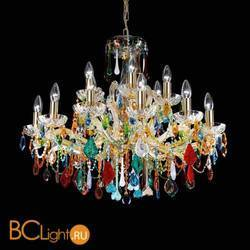 Люстра Beby Group Nuovo Vintage 620/10+5 Light gold CUT CRYSTAL