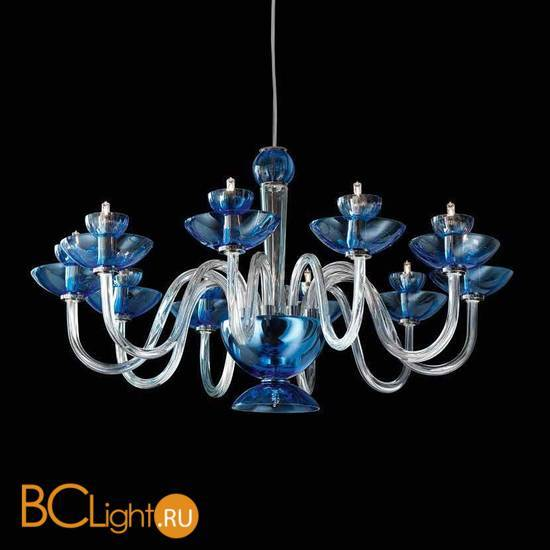 Люстра Beby Group Nuovo Vintage 340/10 Blue