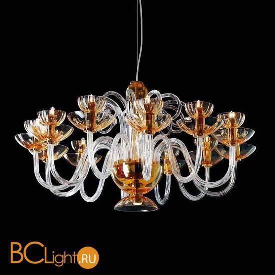 Люстра Beby Group Nuovo Vintage 340/8 Amber