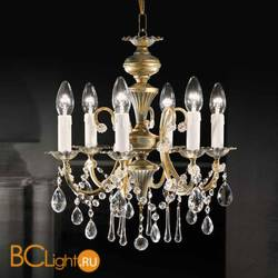 Люстра Beby Group Old style 3306/6 Ivory gold CUT CRYSTAL