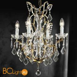 Люстра Beby Group Old style 3285/4 Black gold CUT CRYSTAL