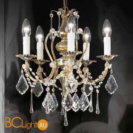 Люстра Beby Group Old style 3591/5 Green gold HALF CUT