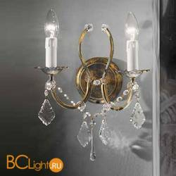 Бра Beby Group Old style 3591/2A Black gold CUT CRYSTAL
