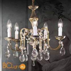 Люстра Beby Group Old style 3592/5 Black gold CUT CRYSTAL