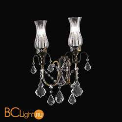 Бра Beby Group Old style 3300/2A Rusty CUT CRYSTAL