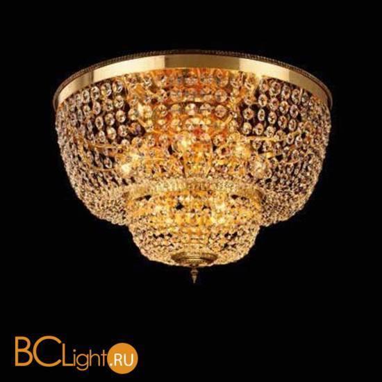 Потолочный светильник Beby Group Opera 2004/12PL Light gold CUT CRYSTAL