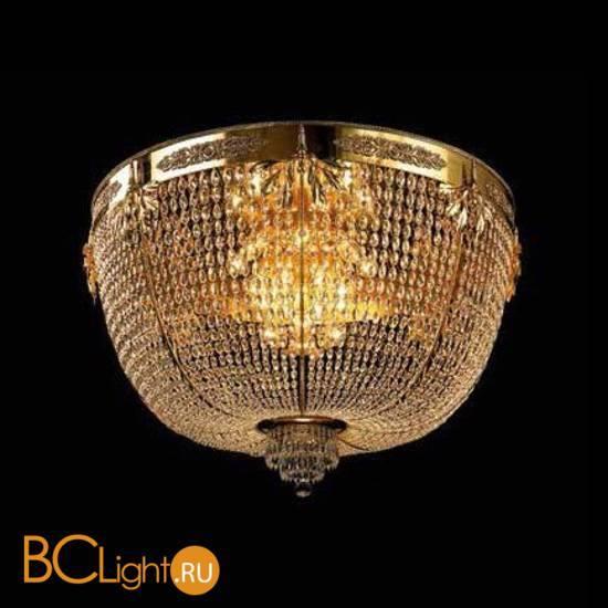 Потолочный светильник Beby Group Opera 2071/14PL Light gold CUT CRYSTAL
