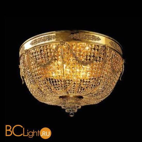 Потолочный светильник Beby Group Opera 2070/8PL Light gold CUT CRYSTAL