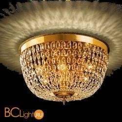 Потолочный светильник Beby Group Opera 2001/6PL Light gold CUT CRYSTAL