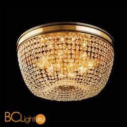 Потолочный светильник Beby Group Opera 2006/12PL Light gold CUT CRYSTAL
