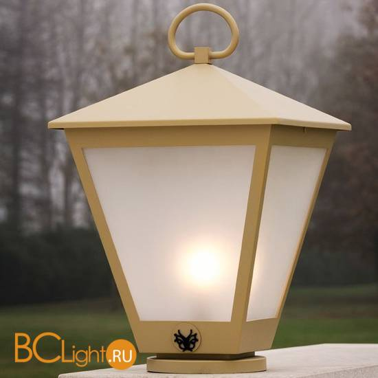 Садово-парковый фонарь Beby Group Outdoor 0127P01 Metallized gold Matt