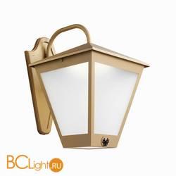 Уличный настенный светильник Beby Group Outdoor 0127A01 Metallized gold Matt
