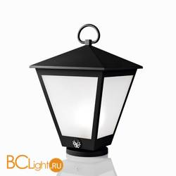 Садово-парковый фонарь Beby Group Outdoor 0127P01 Black Matt