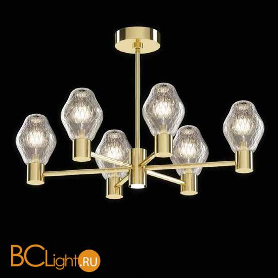 Потолочная люстра Beby Group Peonia 7701B05 Light Gold Silver Cortina