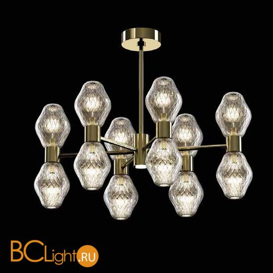 Потолочная люстра Beby Group Peonia 7701B06 Light Gold Silver Cortina