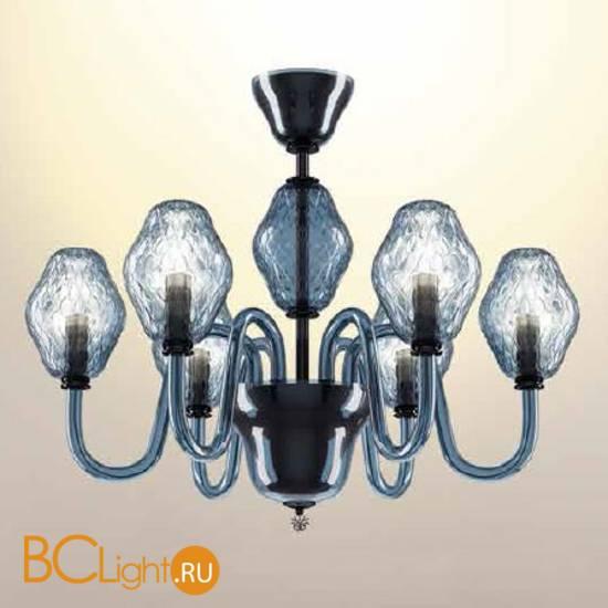 Потолочная люстра Beby Group Peonia 7701B03 Sapphire