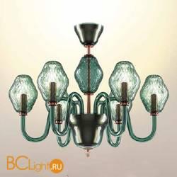 Потолочная люстра Beby Group Peonia 7701B03 Emerald