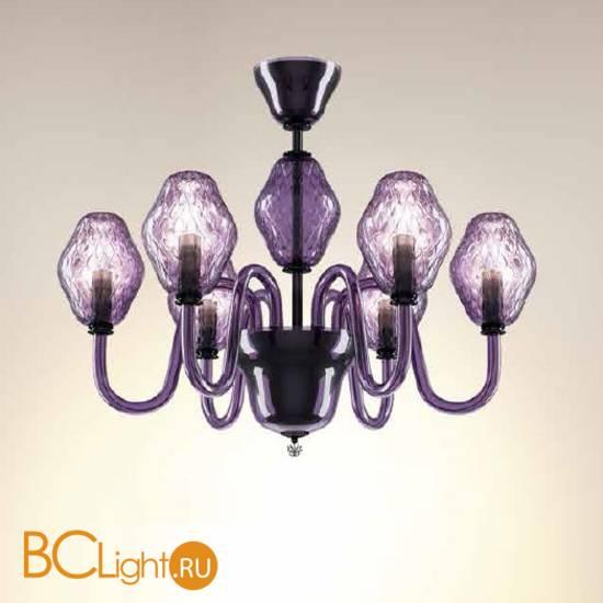 Потолочная люстра Beby Group Peonia 7701B03 Violet