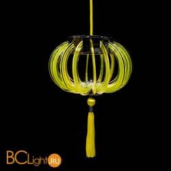 Подвесной светильник Beby Group Planet nine 0660B02 Chromed plated Lemon Ice