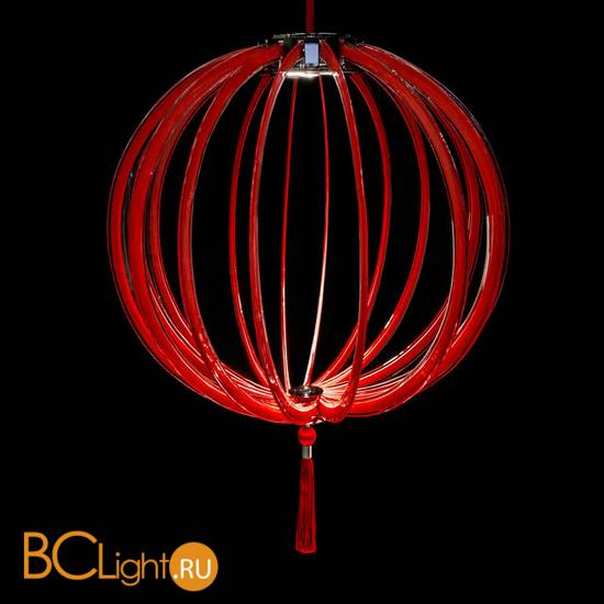 Подвесной светильник Beby Group Planet nine 0660B01 Chromed plated Red Sensuelle