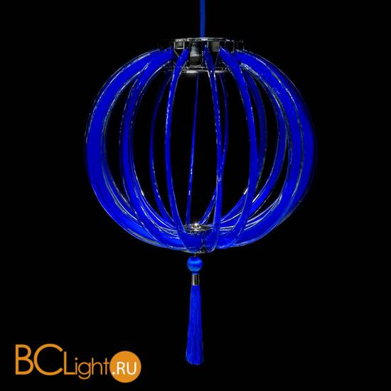 Подвесной светильник Beby Group Planet nine 0660B01 Chromed plated Blue Greece