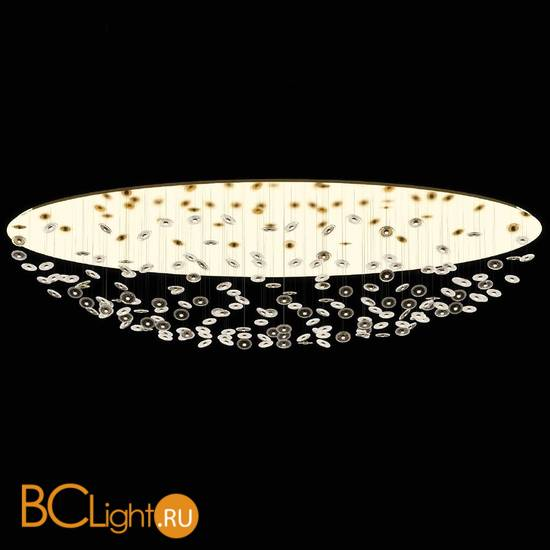 Потолочный светильник Beby Group Prive 0210B15 light gold Murano glass diskes